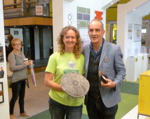 Chimney SHep owner Sally Phillips is Kevin McCloud's Green Hero