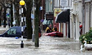 Cockermouth flooded twice in six years