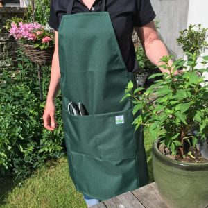 high quality unisex garden apron in durable waterproof canvas