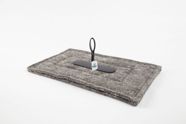 """14"""" x 24""""- Chimney Sheep - woolen chimney draught excluder"""