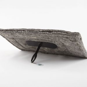 Biodegradable fireplace draught excluder - eco-friendly chimney insulation - chimney downdraught