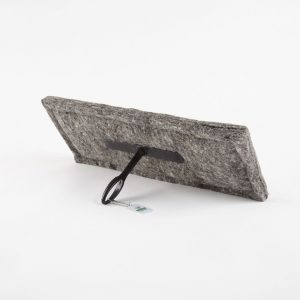 Durable and natural wool fireplace draught excluder - eco-friendly chimney insulation - chimney downdraught