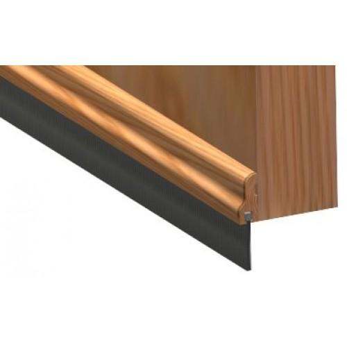 A premium wooden door seal whcih is 1m in length