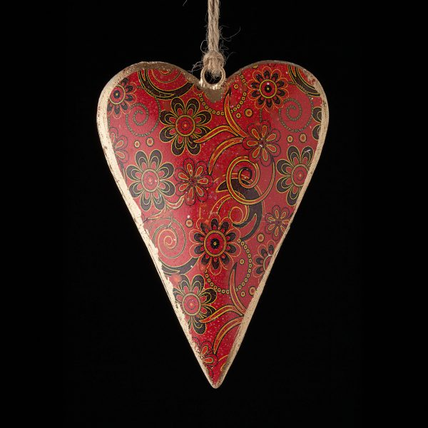Hand-Painted-Floral_Heart_Red