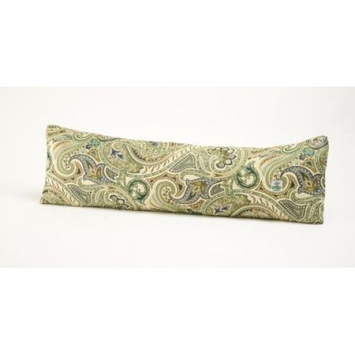 Green Italian Paisley Door Draught Stopper Chimney Sheep