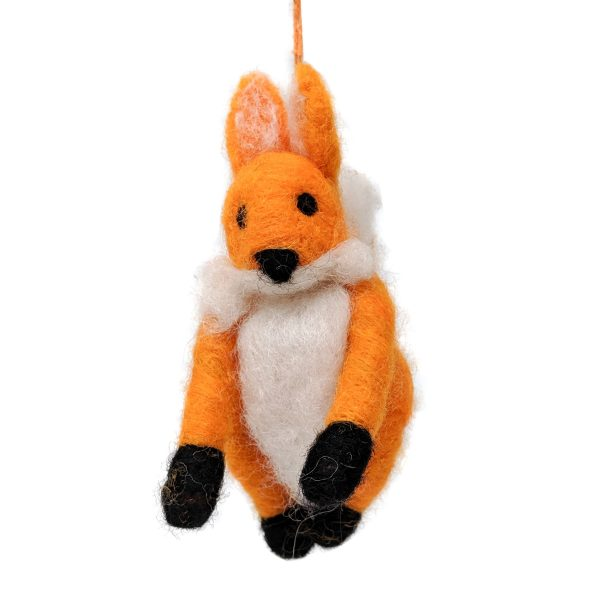 Woolly Felted Fox