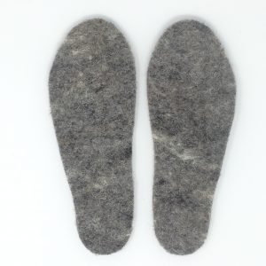 snug feet wool insoles made of springy Herdwick wool