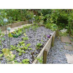 biodegradeable garden mulch - slug repelling wool shillies