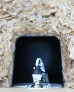Fire Retardant Downlight Cover ~ Downlight Insulation Cover