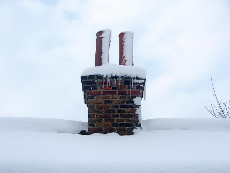 Cold chimney - fit a Chimney Sheep and make huge energy savings