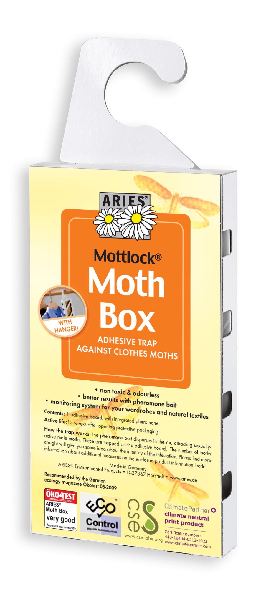 Mottlock Moth Box Effective Pheromone Moth Trap