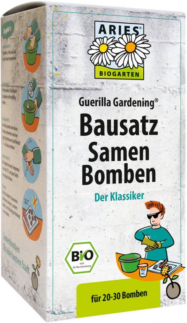 seed ball kit for junior guerrilla gardeners