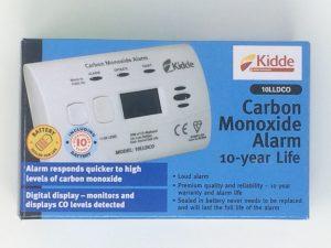 Kidde carbon monoxide detector alarm