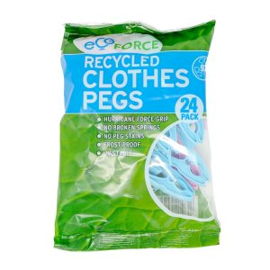 EcoForce recycled plastic clothes pegs