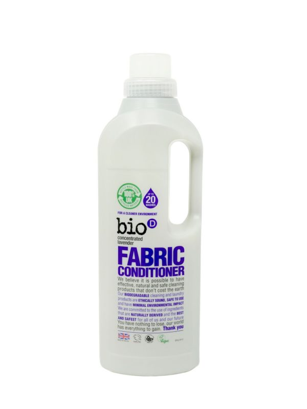 BioD concentrated fabric conditioner with lavender