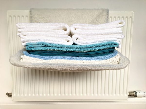 radiator airer for almost but not quite dry laundry