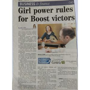 Article showing Chimney Sheep's sally phillips - winner of business boost