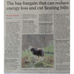 Article on Chimney Sheep being a bargain!