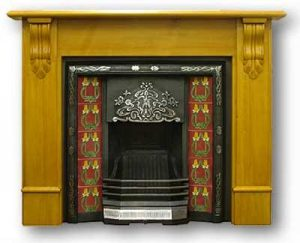 Photo of victorian fireplace - ideal for fitting chimney sheep in