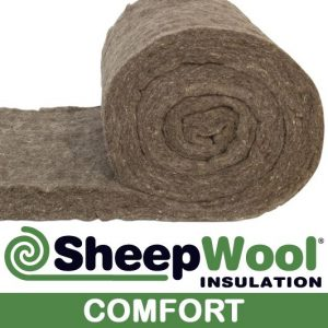 Comfort sheep wool insulation made from 100% sheep wool