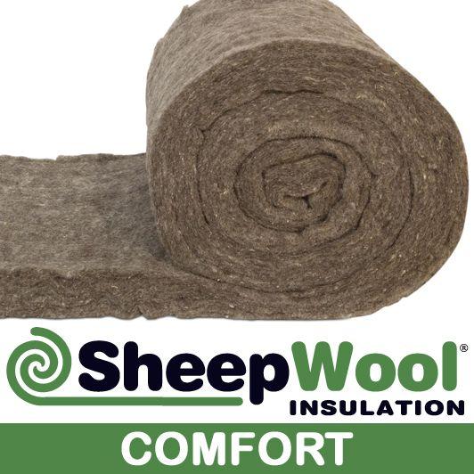Comfort sheep wool insulation made from 100% sheep wool