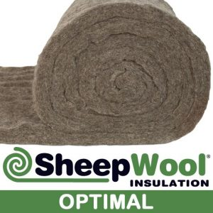 optimal sheep wool insulation made with 100% sheep wool and 100% moth proof