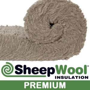 Premium Sheep Wool Insulation made from 100% natural sheep wool - chemical free