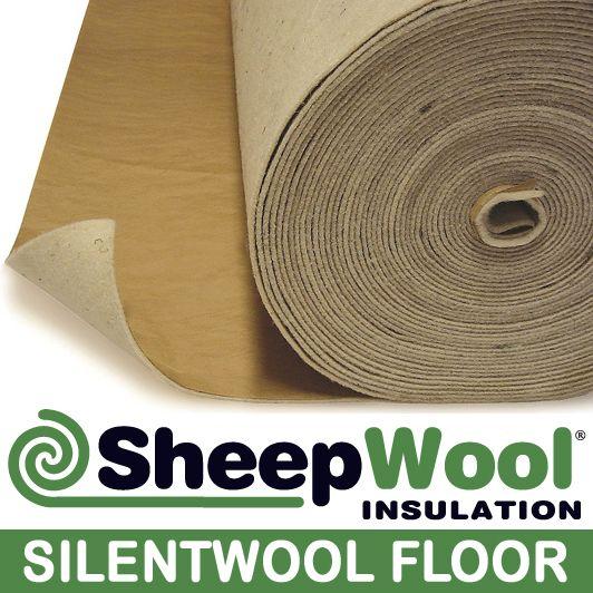 SilentWool Floor pure wool underlayment