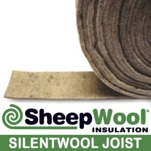 SilentWool Joist pure wool sound absorption for joists