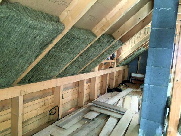 Premium insulation roof application