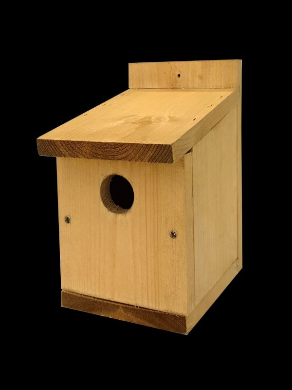classic nest box made of sustainable timber