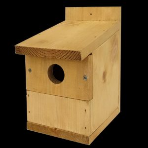 multi nester bird nest box with removable front panel