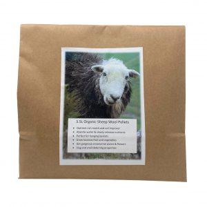 Organic Sheep Wool Pellets