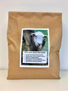 sheep wool pellets for natural water absorption and nutirent release