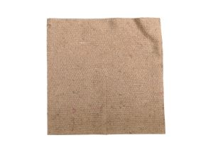100cm square jute tree spat mulch mat made of recycled coffee sacks