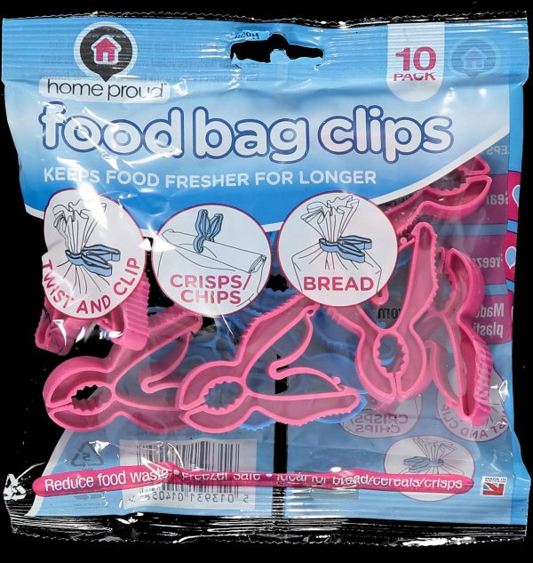 recycled plastic food bag clip
