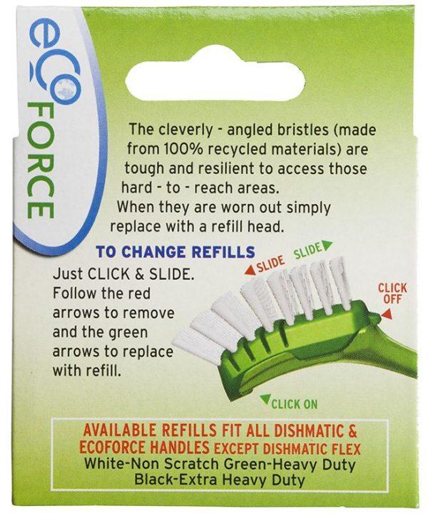 recycled dish brush refill