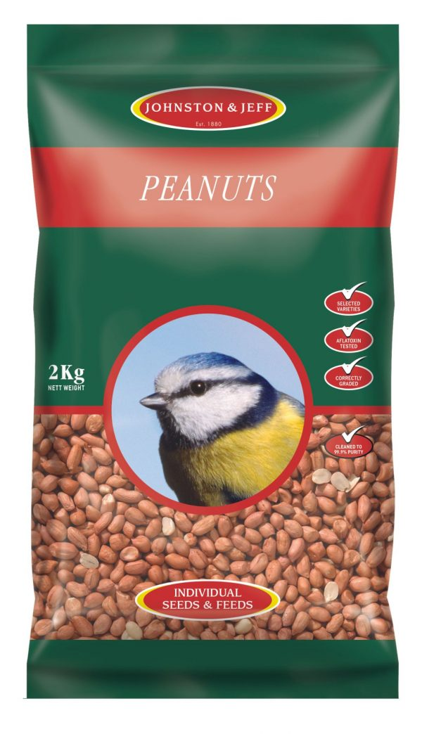 peanuts for wild birds