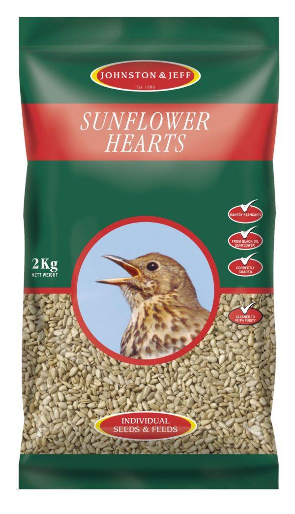 sunflower hearts wild bird food
