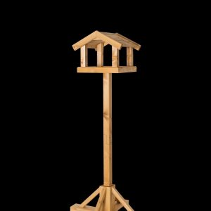 Kelburn Johnston and Jeff sturdy wooden bird table