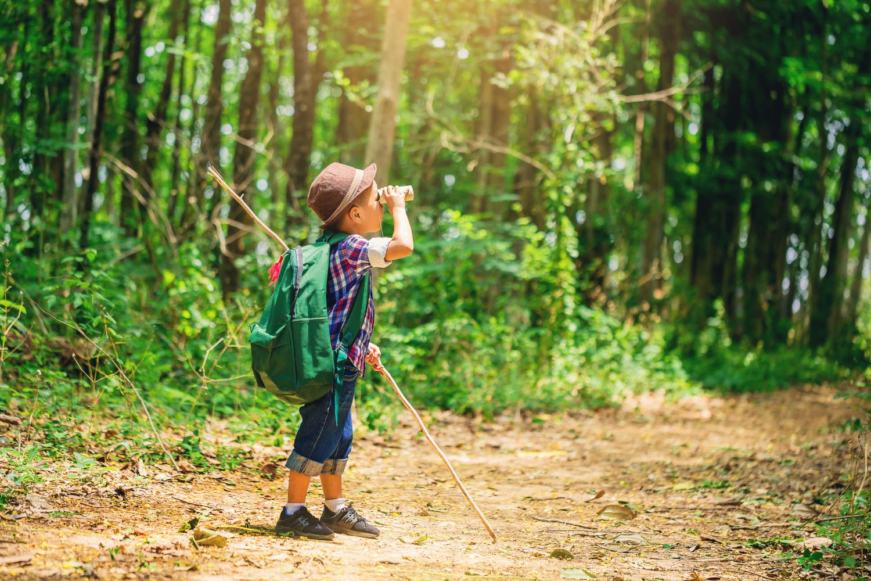 Kids Summer Fun Exploring