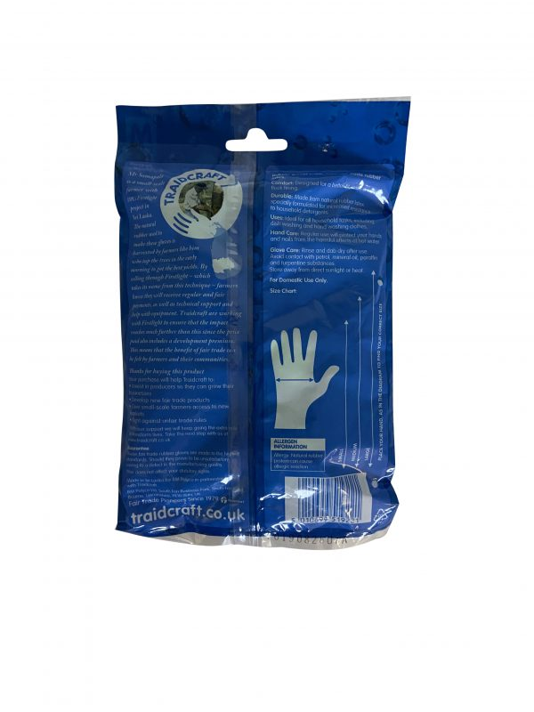 Ethical rubber gloves