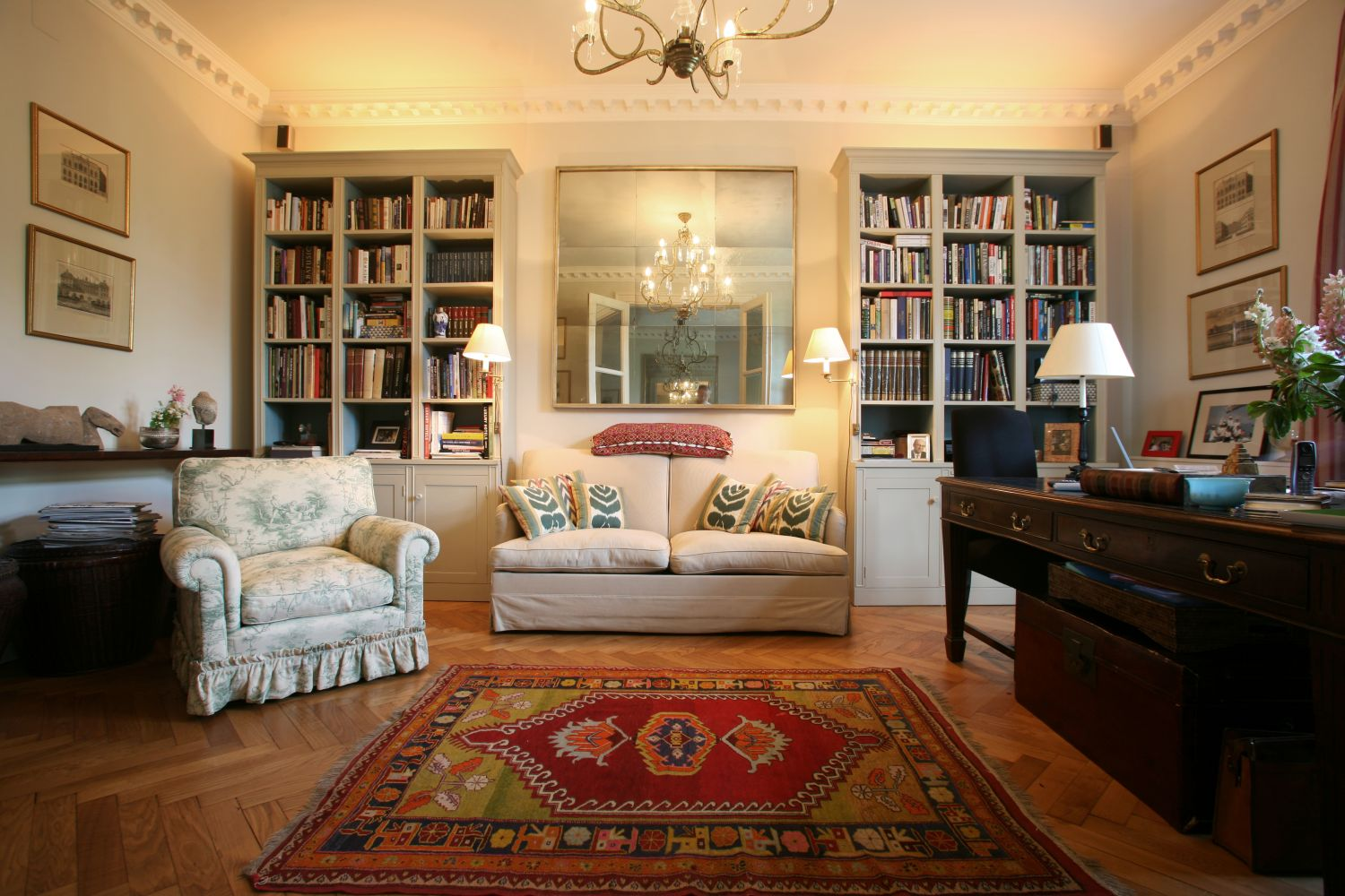 rearranging is an easy way to stay warm without turning up your heating