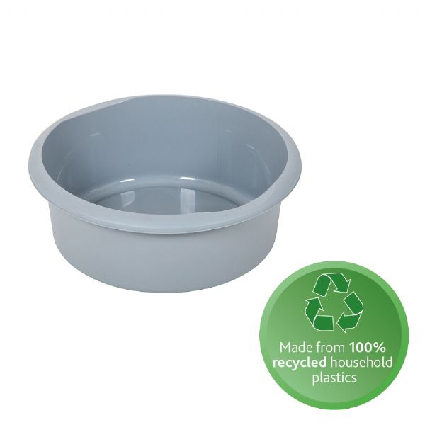 recycled plastic washing up bowl round