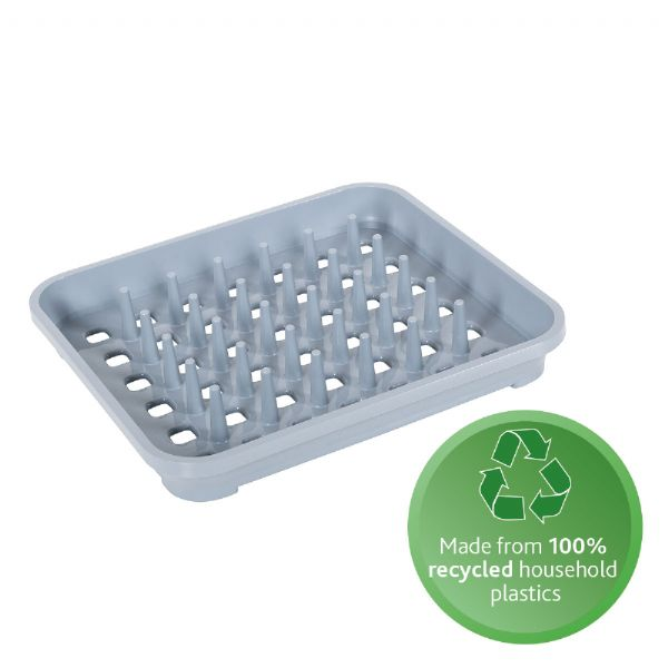 100% recycled plastic crockery drainer