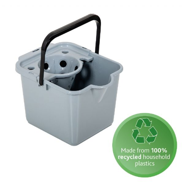 100% recycled mop pail & wringer