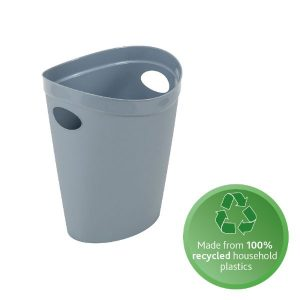 100% recycled plastic waste paper bin