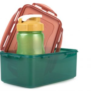 recycled plastic lunch set