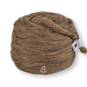 A bundle of wool gap filler