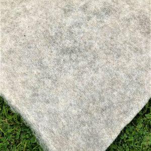 Section of Sheep's Wool Garden Fleece